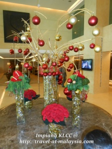 Christmas Decoration In Lobby