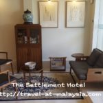 My Hotel Review :- The Settlement Hotel, Melaka.